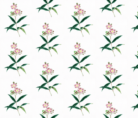 Japanese Flower 7 fabric by zephyrus_books on Spoonflower - custom fabric