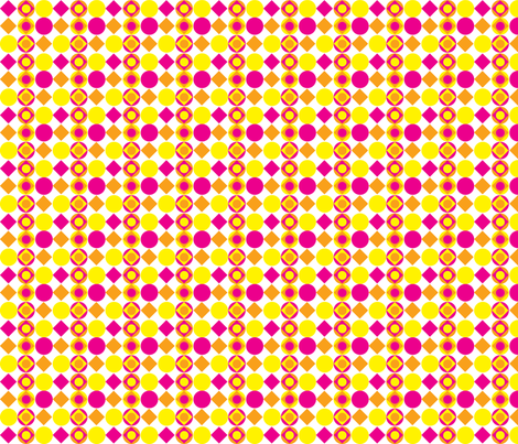 beachballs-whitebackground fabric by terriaw on Spoonflower - custom fabric