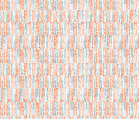 Orange & Grey Chevrolet fabric by papermoonpatterns on Spoonflower - custom fabric