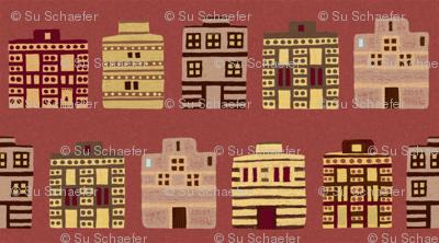 Minoan houses by Su_G