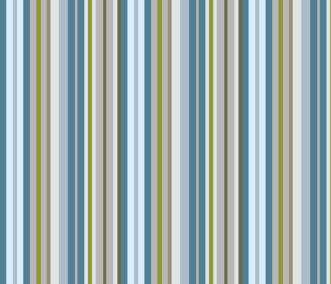 Beachside Stripes fabric by creative_merritt on Spoonflower - custom fabric