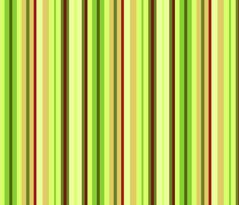 Forest Moss Stripes fabric by creative_merritt on Spoonflower - custom fabric