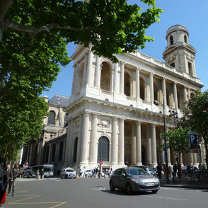 St Sulpice Church, Paris