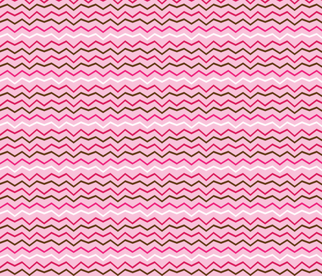 valentines_zigzag fabric by terriaw on Spoonflower - custom fabric