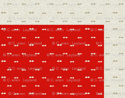 Dotted Swiss Flag