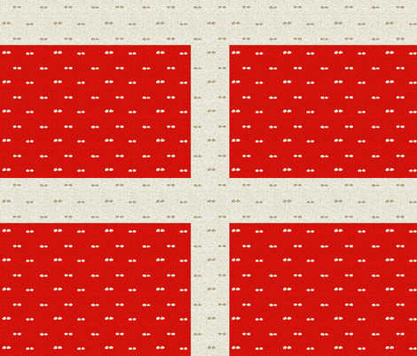 Dotted Swiss Flag fabric by wren_leyland on Spoonflower - custom fabric