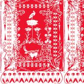 Swiss Flag Scherenschnitte