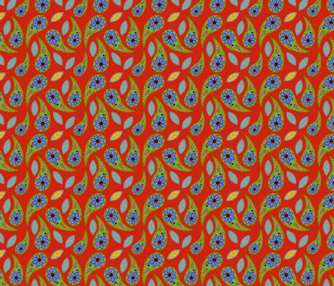 Paisley_Feliz fabric by cksstudio80 on Spoonflower - custom fabric