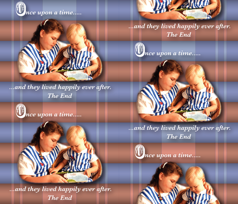 Read me a story.... fabric by jjtrends on Spoonflower - custom fabric