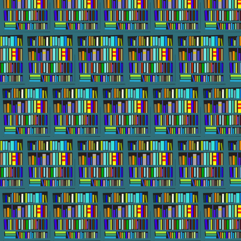Nutshell Library fabric by boris_thumbkin on Spoonflower - custom fabric