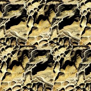 sand ripples in sandstone