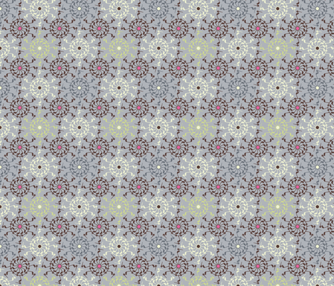 StorkFlower2 fabric by adèle_de_la_cigogne on Spoonflower - custom fabric