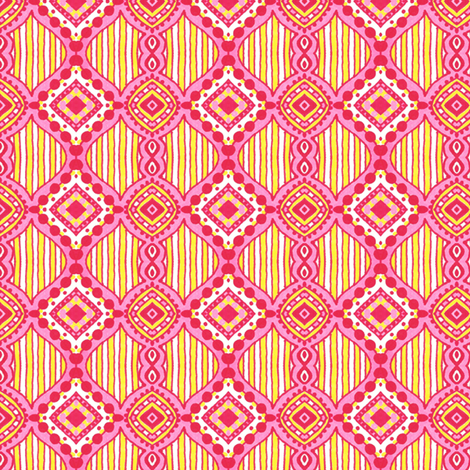 Lalita Medallions fabric by siya on Spoonflower - custom fabric