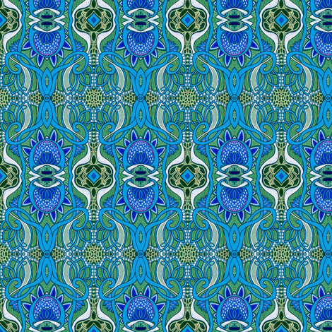 It Came From the Blue Planet fabric by edsel2084 on Spoonflower - custom fabric