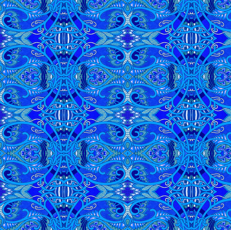 Goes With Denim fabric by edsel2084 on Spoonflower - custom fabric