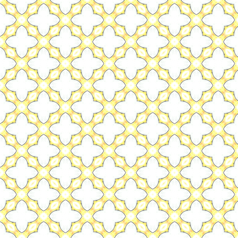 Waiteri's White Flowers fabric by siya on Spoonflower - custom fabric
