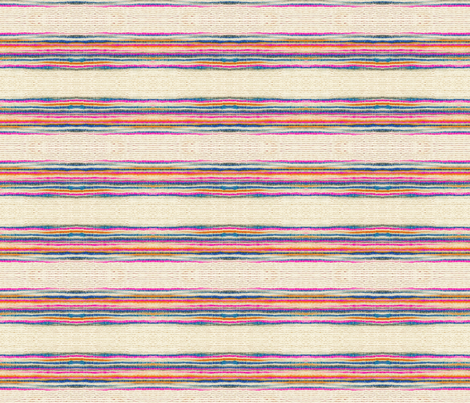 Striped Khadi Print fabric by wiksten on Spoonflower - custom fabric