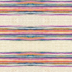Striped Khadi Print