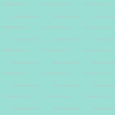 Simple Flowers Light Teal
