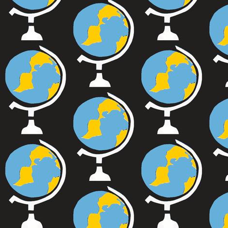 Globe Stripes fabric by boris_thumbkin on Spoonflower - custom fabric