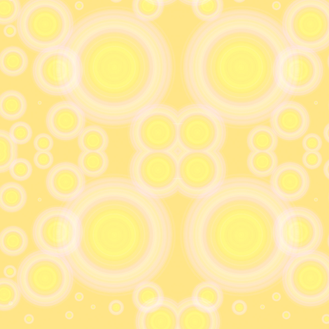 yellowcircles fabric by kali_d on Spoonflower - custom fabric