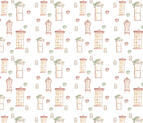 Savannah Windows fabric by aestuum on Spoonflower - custom fabric