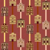 Minoan house stripes
