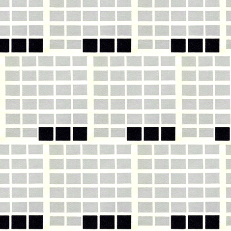Retro Grid fabric by stoflab on Spoonflower - custom fabric