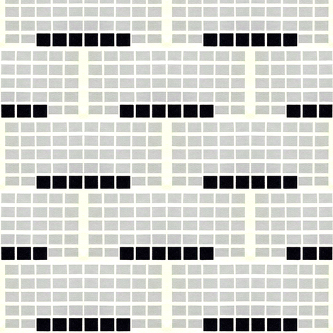 Retro Grid 2 fabric by stoflab on Spoonflower - custom fabric