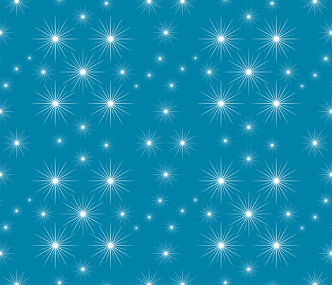 Twinkle, twinkle fabric by jjtrends on Spoonflower - custom fabric