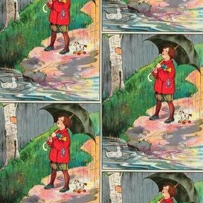 Mother Goose Nursery Rhyme Rain, rain, go away, Come again another day