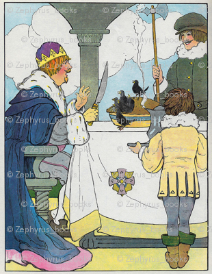 Mother Goose Nursery Rhyme SING A SONG OF SIXPENCE