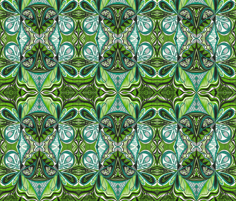 Africangreen fabric by yezarck on Spoonflower - custom fabric
