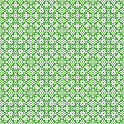 Mini Upholstery Print fabric Green ©2012 by Jane Walker