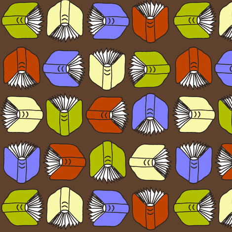An Open Book fabric by kdl on Spoonflower - custom fabric