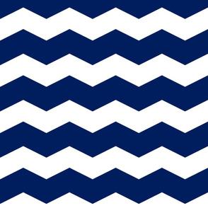 Chevrons navy