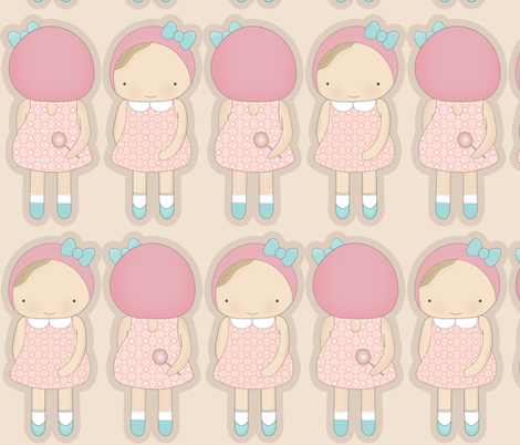 irogirl fabric by mmminou on Spoonflower - custom fabric