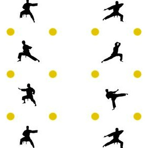 Taekwondo Yellow Dots