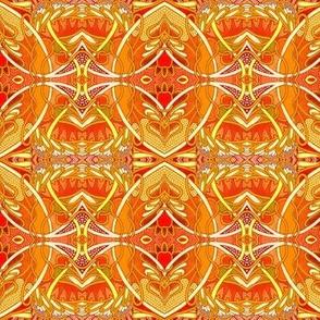 Big Hot Modern Orange Jazz Thing
