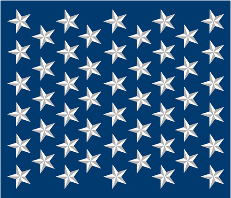 Distressed Patriotic Stars 50 Star Panel fabric by muddyfoot on Spoonflower - custom fabric