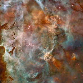 Astronomy Full cloth repeat of Nebula Phots