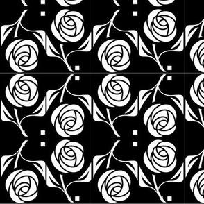 rose, B&W lg