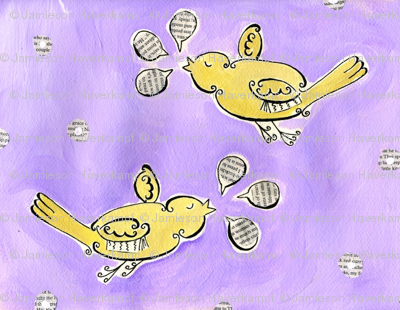 Birds with Words