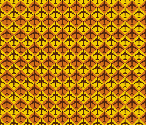 Plane Checker fabric by toothpanda on Spoonflower - custom fabric