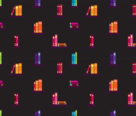 books2 fabric by stella12 on Spoonflower - custom fabric