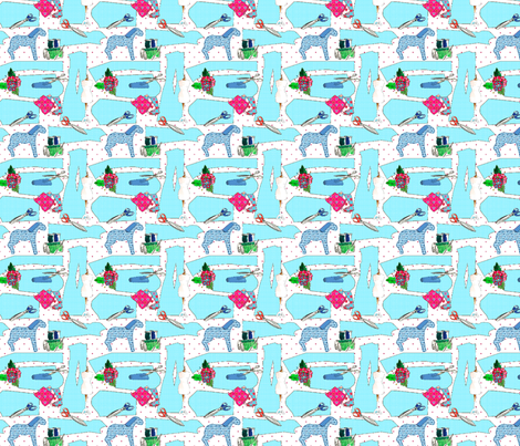 """couture oh couture"" fabric by nadja_petremand on Spoonflower - custom fabric"