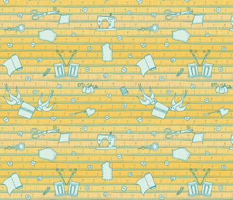 the Rules Scatter fabric by leighr on Spoonflower - custom fabric