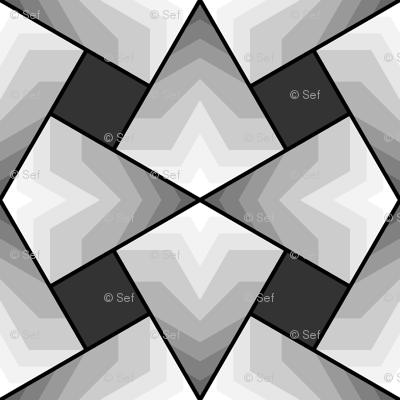 kite4sqXi - star (light, grey)