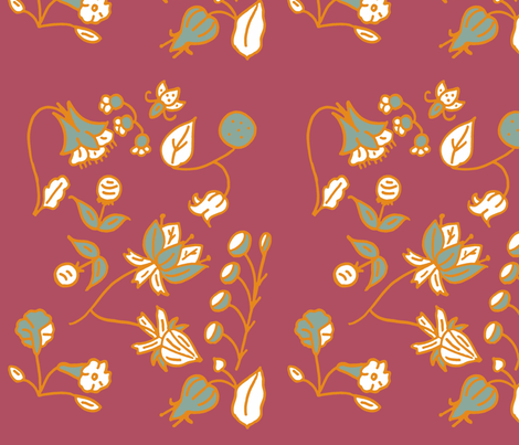 poppi 2 fabric by kevicort on Spoonflower - custom fabric