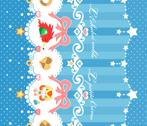 Twinkle Star fabric by nikikuriton on Spoonflower - custom fabric